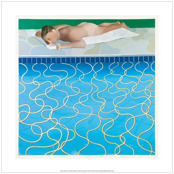 David Hockney, The Sunbather, 1966, 2017