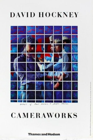 David Hockney, David Hockney Original Poster 'Cameraworks', 1982