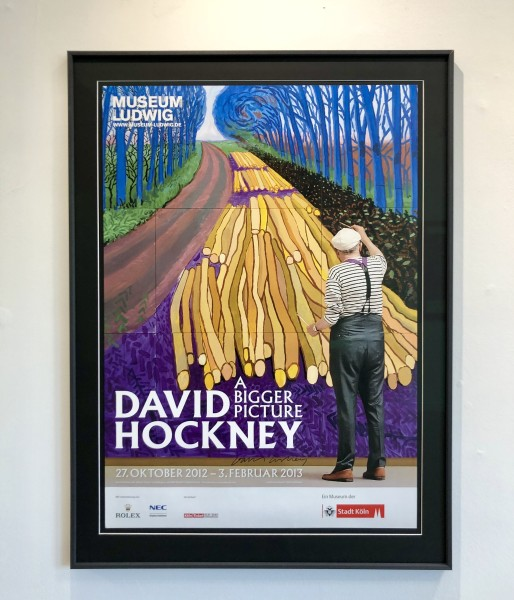 David Hockney, 'Winter Timber' July 2006. Ludwig Museum - Hand Signed, 2012