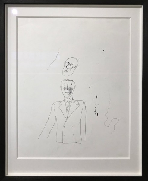 David Hockney, Peter Crutch Ink on Paper Original David Hockney, 1962