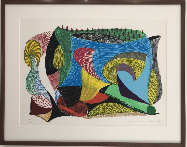 David Hockney, Above and Beyond, 1994