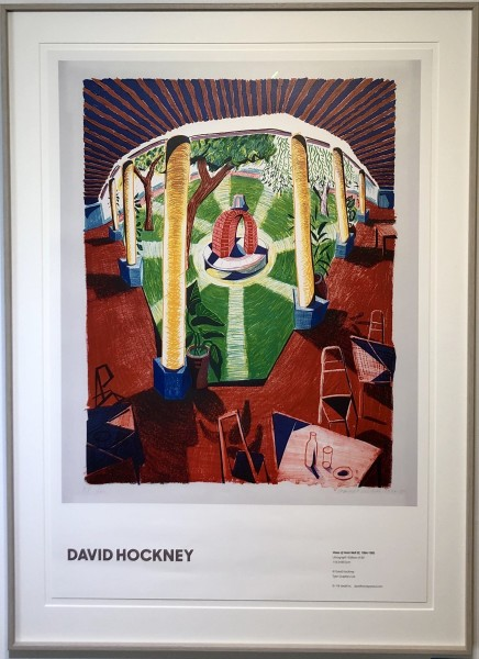 David Hockney, Views of Hotel Well III, 1984-1985, 2019