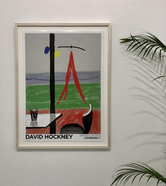 David Hockney, Hand Signed, Untitled, iPad. Louisiana Denmark, 2009