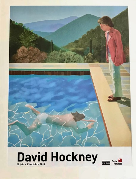 David Hockney, Portrait of an Artist (Pool with Two Figures), 2017