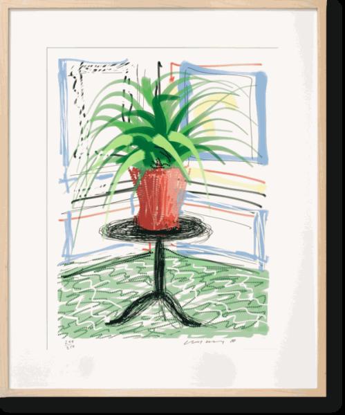 David Hockney, A Bigger Book, Art Edition No. 501–750 'Untitled, 468' Edition of 250, 2010