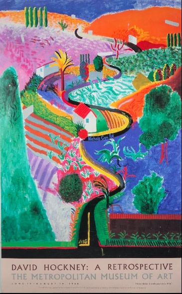 David Hockney, Nichols Canyon, 1988