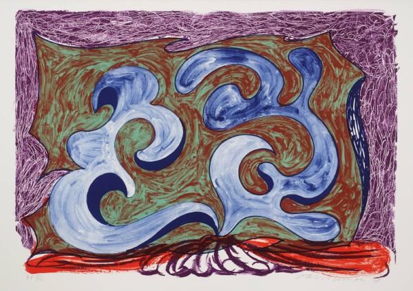 David Hockney, Rampant, 1991