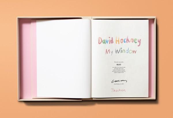 David Hockney, David Hockney. My Window, 2019