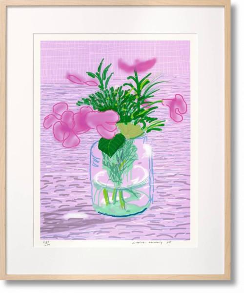 David Hockney, iPad Drawing 'Untitled, 329', 2016