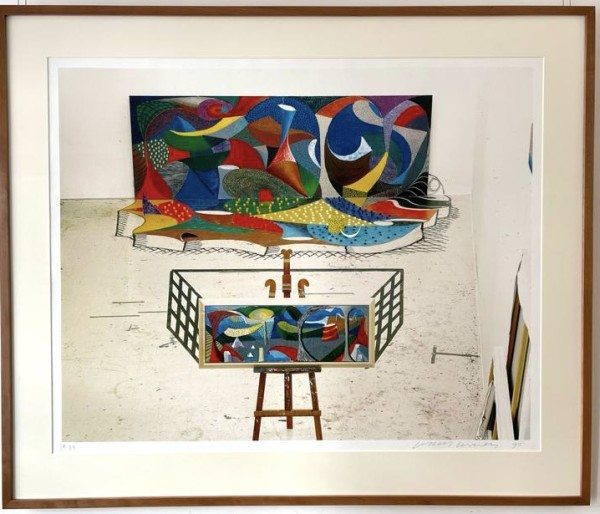 David Hockney, The Studio March 16th 1995, 1995