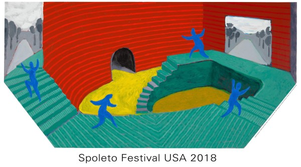 David Hockney, Hither and Dither Spoleto Festival 2018, 2018