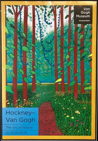 David Hockney, Hockney - Van Gogh 'The Joy of Nature' , 2019