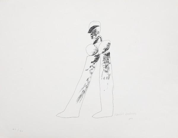 """David Hockney, """"Man (Mikro 20)"""", 1964"""