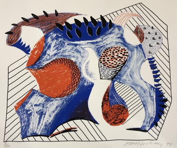 David Hockney, Untitled, for Joel Wachs, 1993
