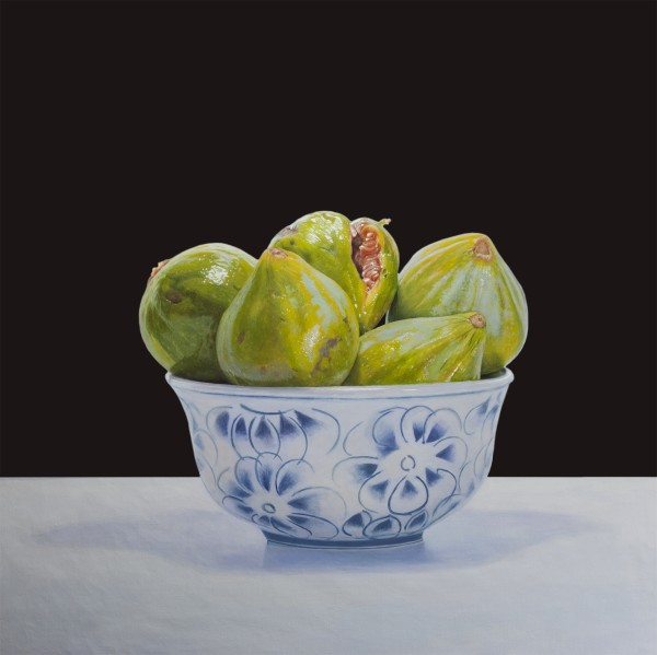 Francisco Stile  Figs  Oil on canvas  50 x 50 cm