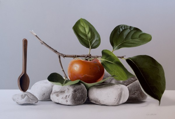 Christian Carlini  Primordial Flavor, 2016  Oil on canvas  55 x 80 cm