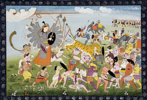 The Sakti forces attack