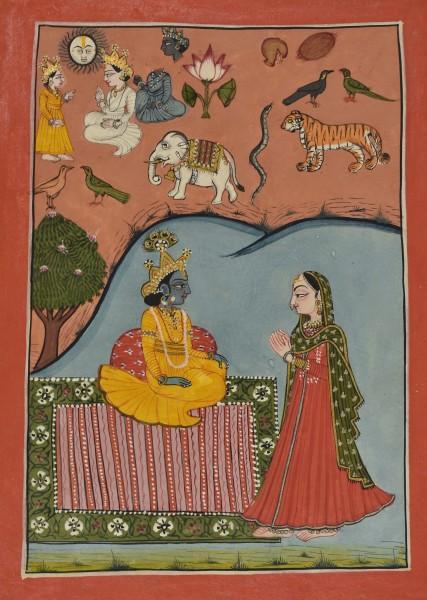 Krishna's hidden Gunakathana
