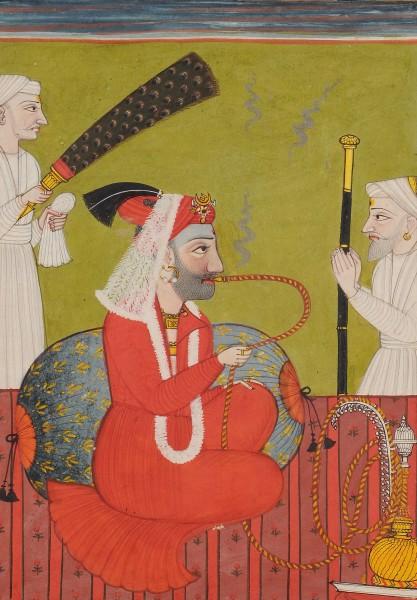 RAJA SHAMSHER SEN OF MANDI (1727-1781)