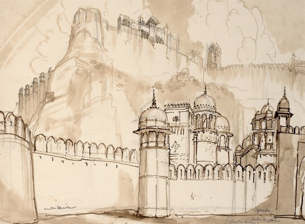 51. André Maire (1898-1984), Gwalior, 1938
