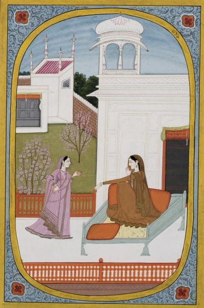 Ramajani Sakhi Advises Radha