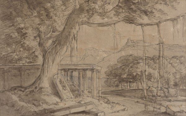 13. William Daniell R. A. (1769 - 1837), A Ruined Temple