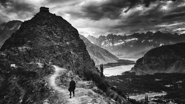 William Dalrymple, Heading home, Shyok gorges, Pakistan