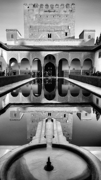 William Dalrymple, The Court of the Myrtles, the Alhambra, Granada