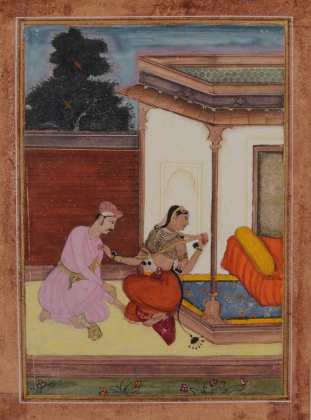 AN ILLUSTRATION TO A RAGAMALA SERIES