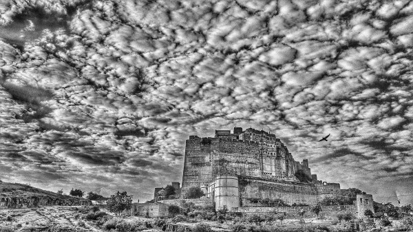William Dalrymple , Early morning , Mehrangarh Fort , Jodhpur II