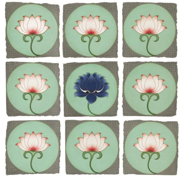 Olivia Fraser , Blue Lotus , 2020