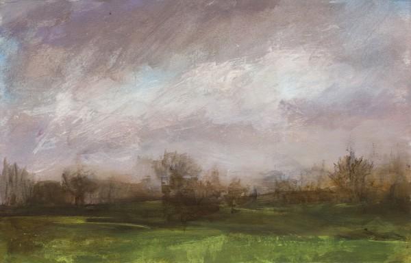 Annie Boisseau Drifting Clouds acrylic £565