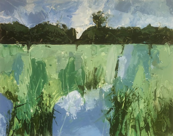 Margaret Crutchley Minsmere I acrylic £300