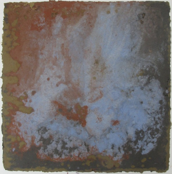 Peter Ford Blue Fire pigment in paper pulp £700