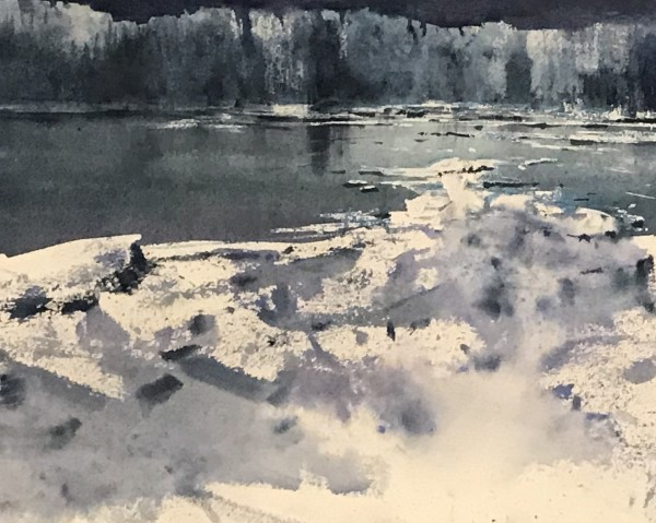 Vicente Garcia Fuentes Thaw III watercolour £370