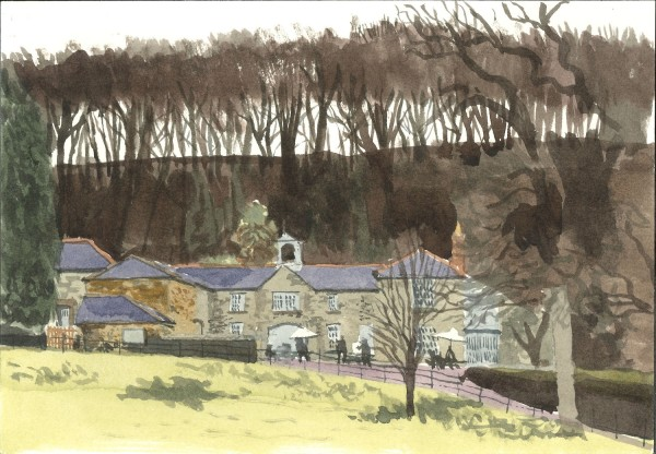 William Hardy Stables, Penrose watercolour £275