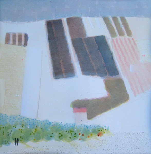 Edward Hutchison Patterns in a Sicilian Landscape: One watercolour £750