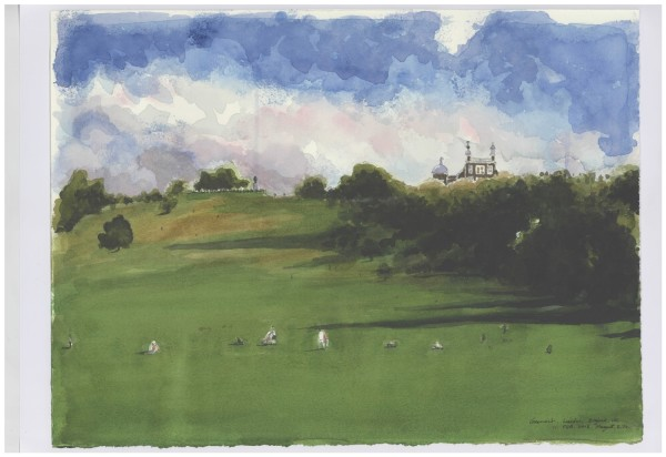 Eunbee Jo Greenwich Park watercolour £500
