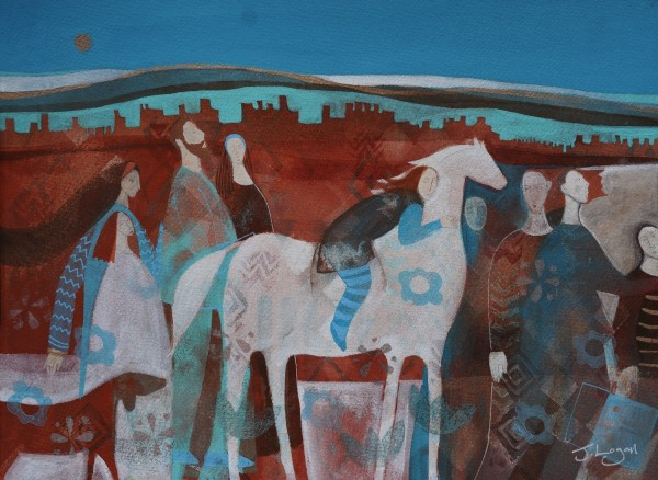 Judith Logan Exodus mixed media £395