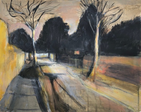 Olivia O'Sullivan Fading Light, New Cross SE14 acrylic £250 Winner of the RWS Award
