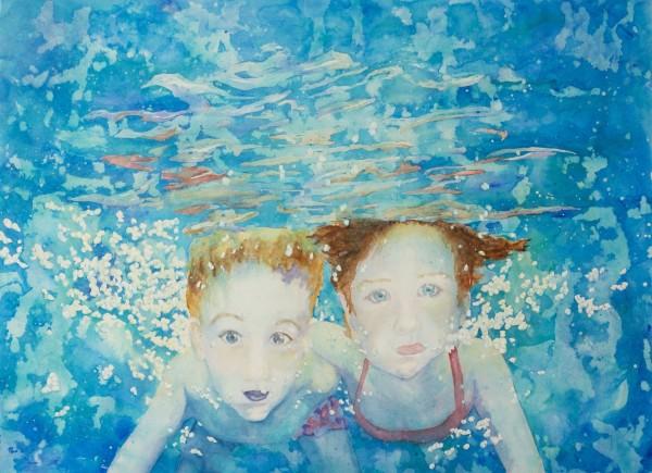 Marie Anne Patenaude-Alexandre Underwater watercolour £3000