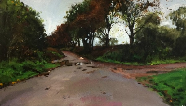Paul Regan Wash Lane I acrylic £850