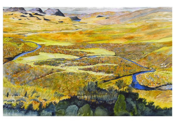 Stewart Smith Achriesgill Water watercolour £500