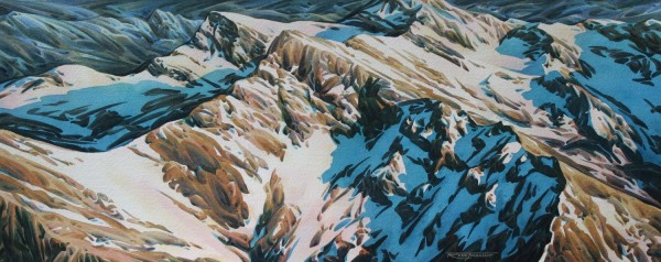 Rene Thibault Above the Rockies #23 watercolour £575