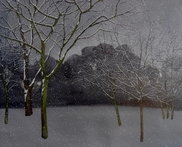 Rachael Weitzman Snow acrylic £600