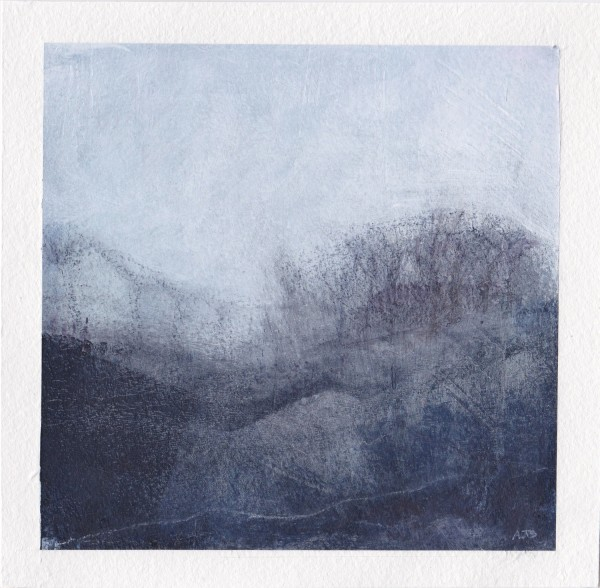 Amanda Blunden English Winter 1 acrylic & watercolour £350