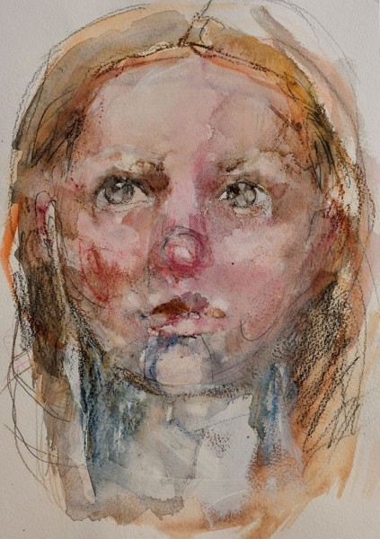 Joanna Bozek Sorrow mixed media £495
