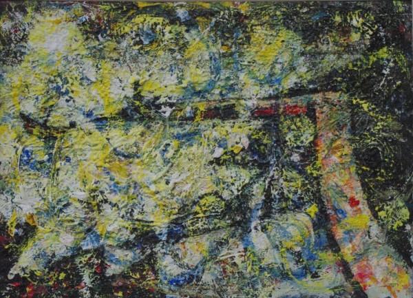 John R Bradley Stinky Bay acrylic £750