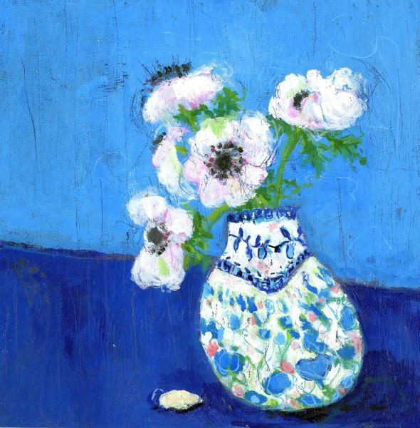 Jenny Handley White Anemone acrylic £285