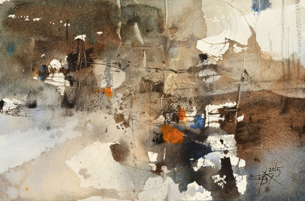 Chung Wei Chien, Watercolor Impromptu No.1